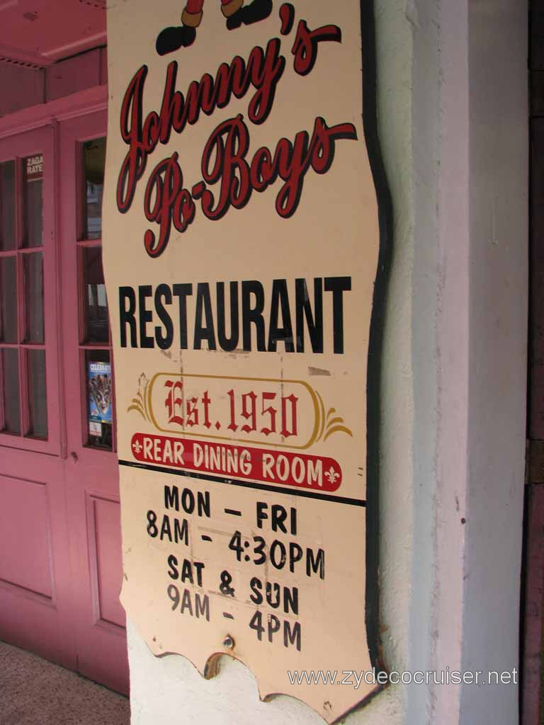 026: Johnny's Po-Boys Restaurant, New Orleans - Established 1950