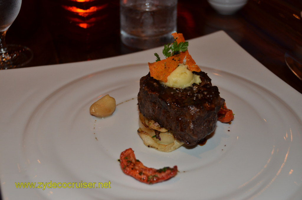 Carnival Magic, Prime Steakhouse, Broiled Filet Mignon