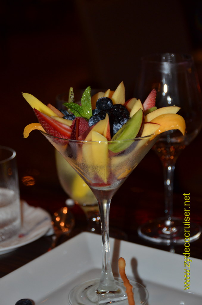 Carnival Magic, Prime Steakhouse, Fresh Fruits