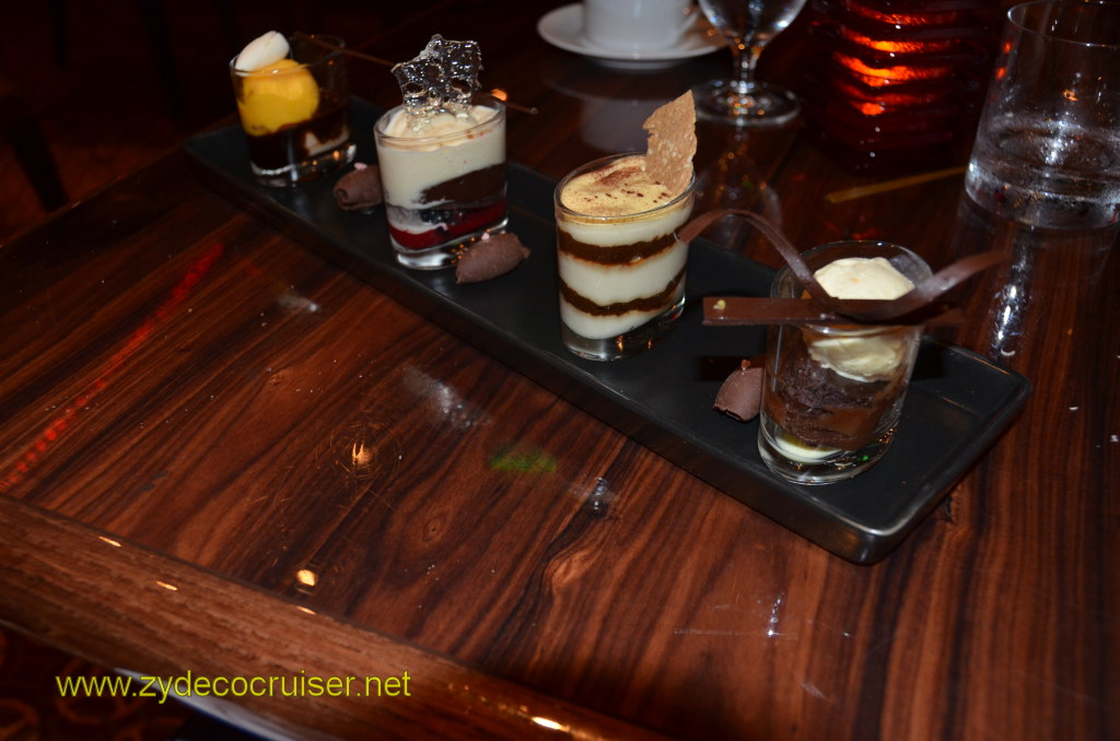 Carnival Magic, Prime Steakhouse, Chocolate Sampler