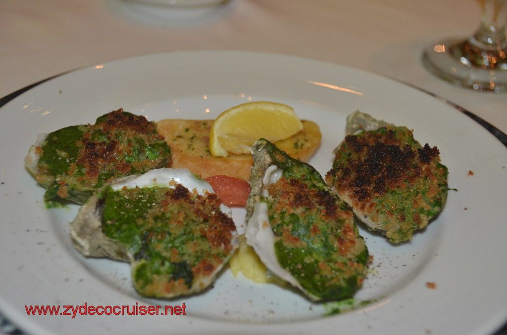 Oysters Rockefeller (double order)