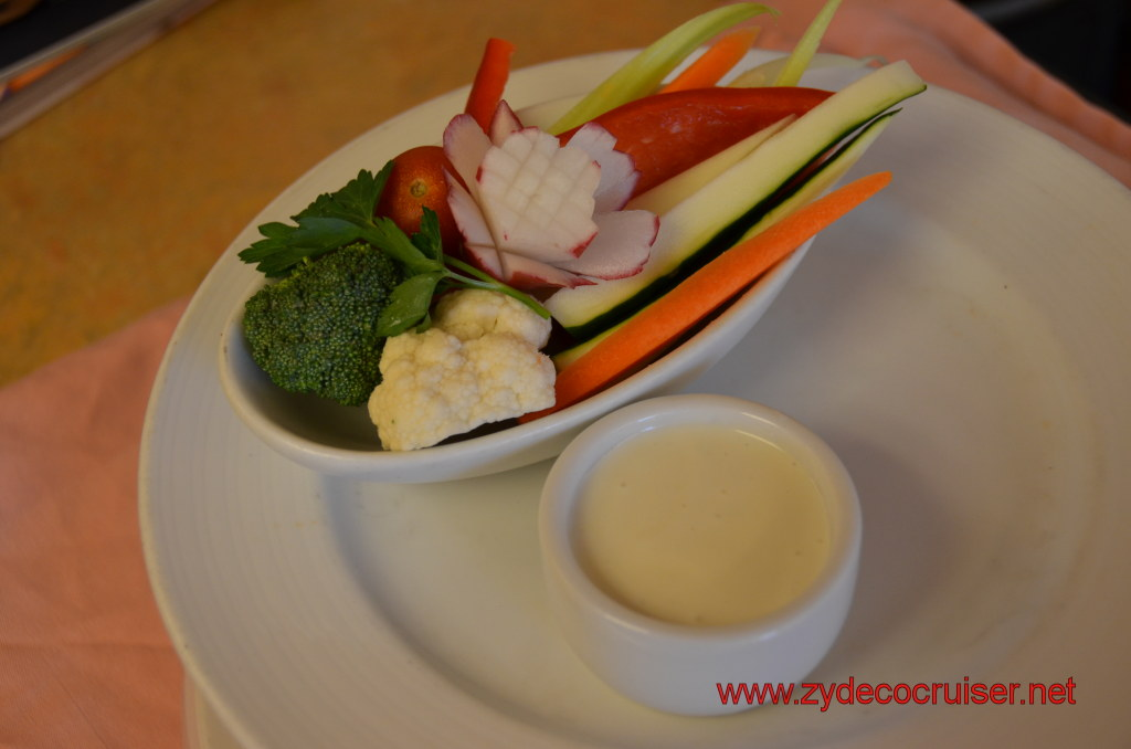 Assorted Vegetable Sticks with Blue Cheese Dip