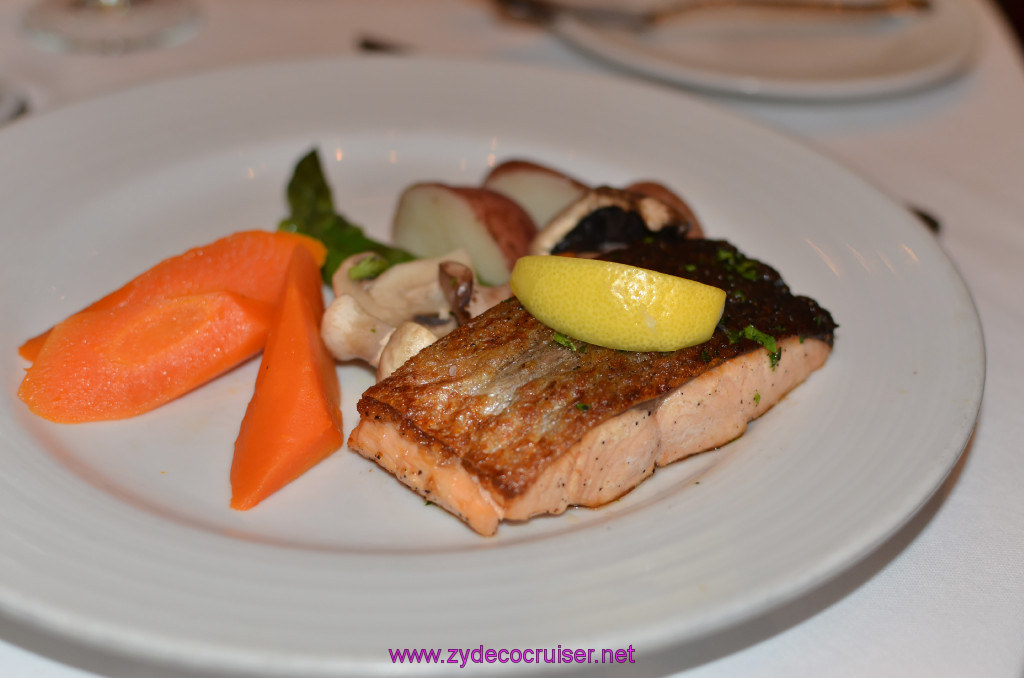 Broiled Filet of Atlantic Salmon,