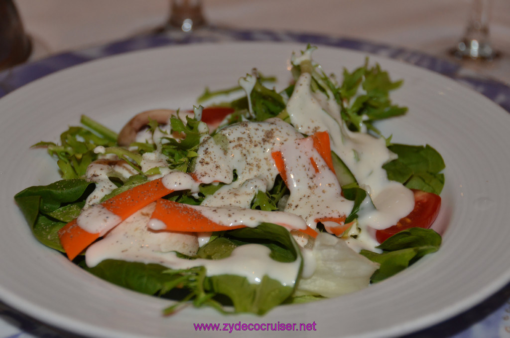 California Spring Mix and Cherry Tomatoes with Blue Cheese