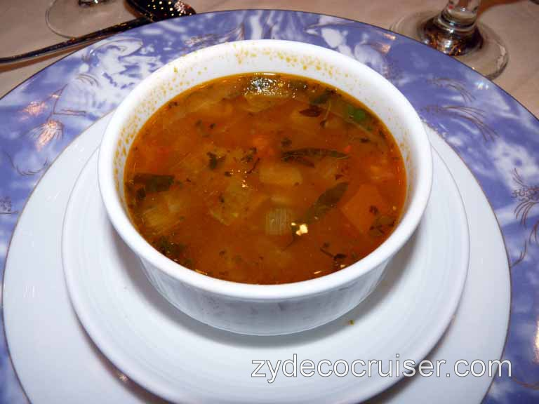 Carnival Dream - Minestrone Milanese
