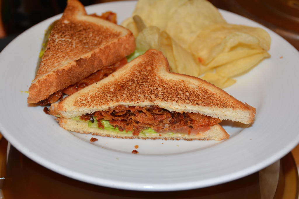 002: Carnival Dream Reposition Cruise, Cozumel, Room Service Breakfast, BLT Sandwich,