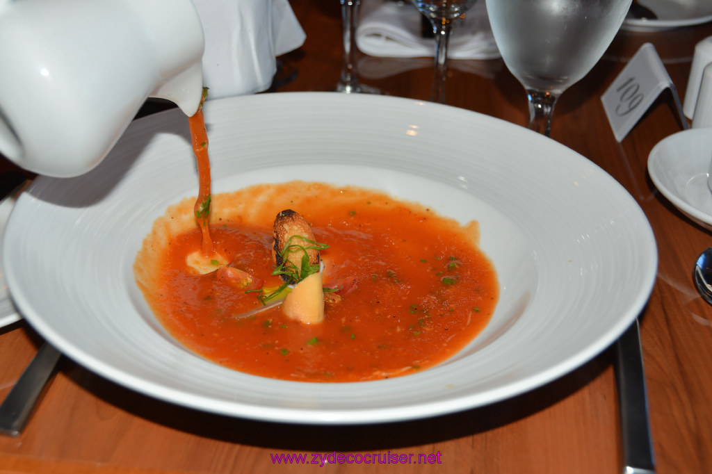 009: Carnival Cruise Seaday Brunch, Flamin' Tomatoes Soup