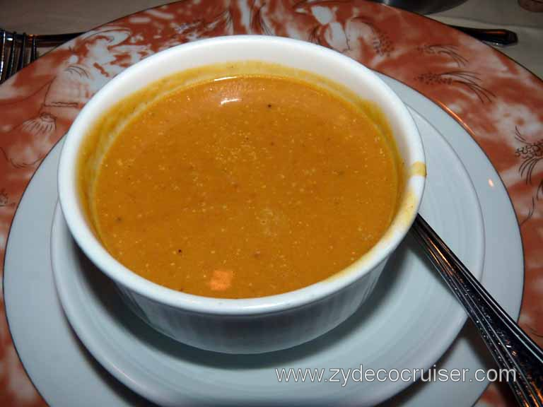 828: Carnival Sensation - West Indian Roasted Pumpkin Soup