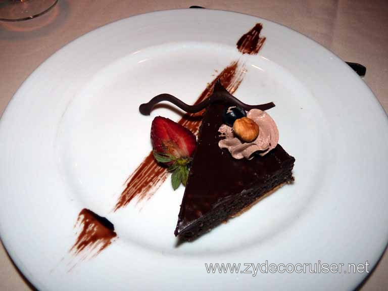430: Carnival Spirit, Kailua-Kona, Chocolate and Hazelnut Tart