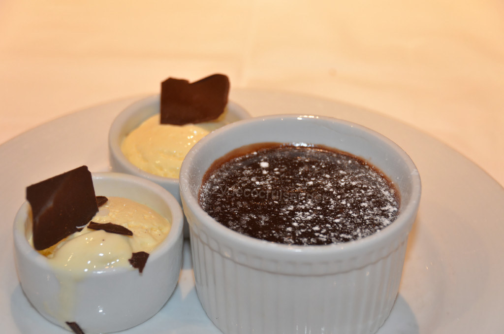 Warm Chocolate Melting Cake,