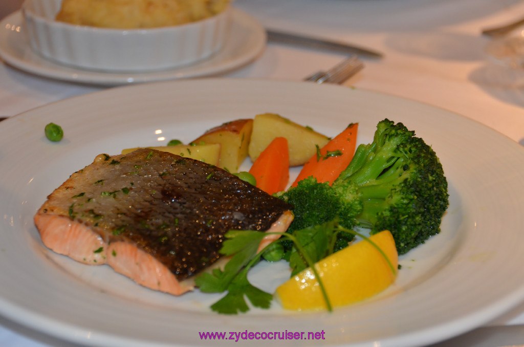 Broiled Filet of Atlantic Salmon