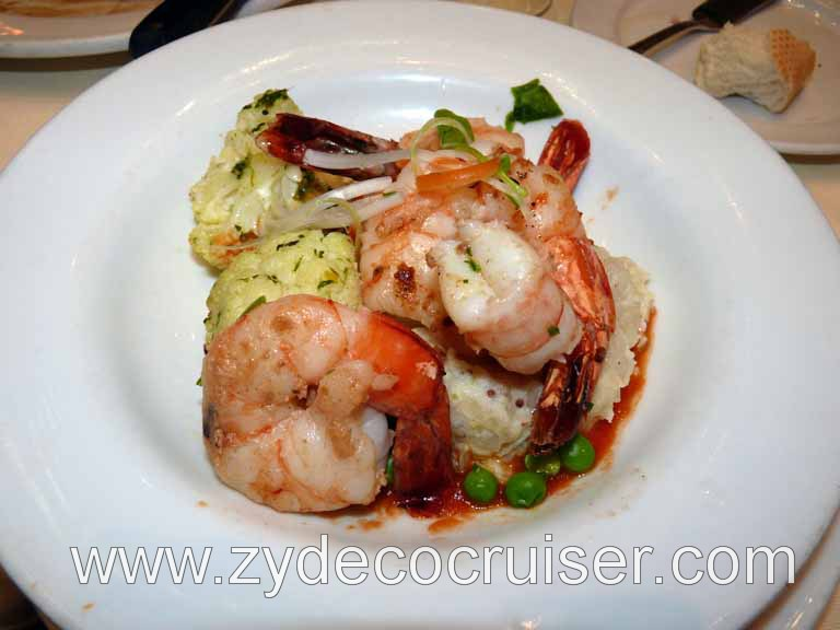090: Carnival Triumph, Sea Day 2, Grilled Jumbo Tiger Shrimps