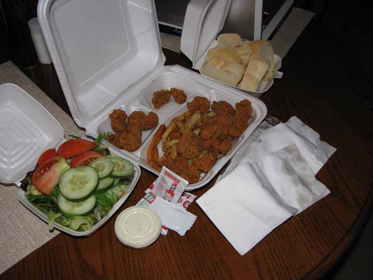 001: Mike Anderson's Restaurant, Baton Rouge, Louisiana, Fried Oysters, Select