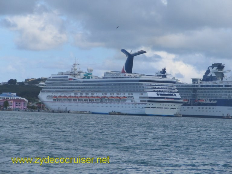 092: Carnival Liberty, Eli's Adventure Antigua Eco Tour, Almost back to the mother ship after an excellent tour!