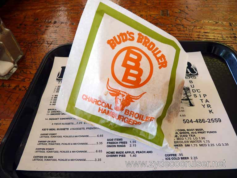 011: Bud's Broiler, New Orleans, City Park Ave Location,