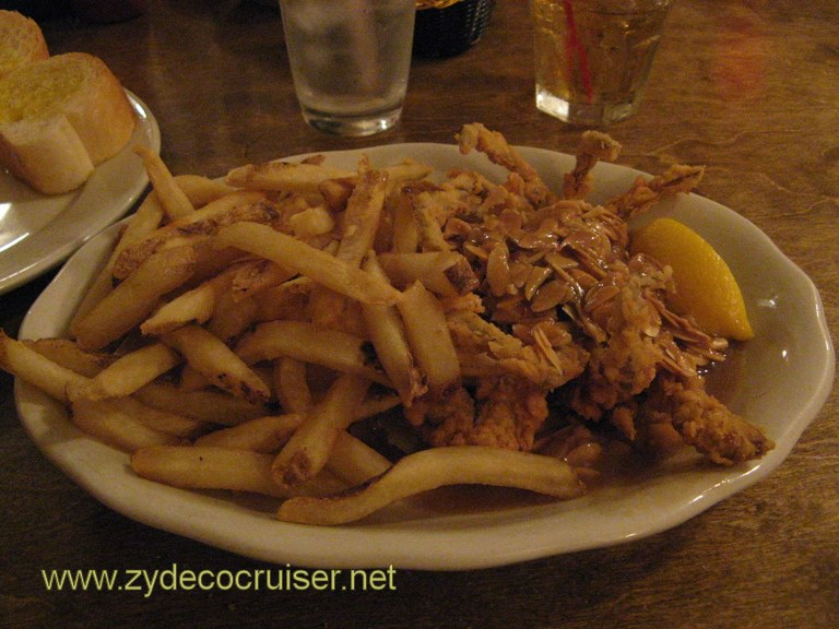 Mandina's New Orleans - Fried Softshell Crab Almandine