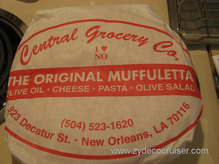 Central Grocery Co., New Orleans, The Original Muffuletta