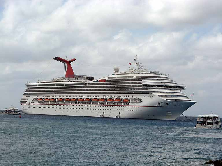 Carnival Freedom, Grand Cayman
