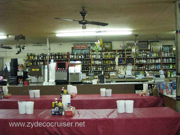 008: Moon's Grocery and Deli, Homer, LA - You buy a bottle of booze, mixers, whatever, and serve yourself