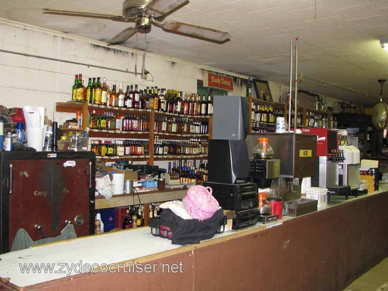 016: Moon's Grocery and Deli, Homer, LA - You buy a bottle of booze, mixers, whatever, and serve yourself.
