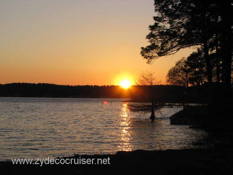 025: Sunset over Lake Claiborne, Claiborne Parish, Louisiana