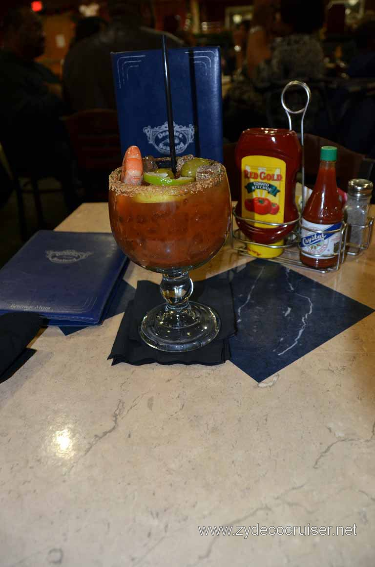 015: Deanie's, New Orleans, French Quarter, Special Bloody Mary!