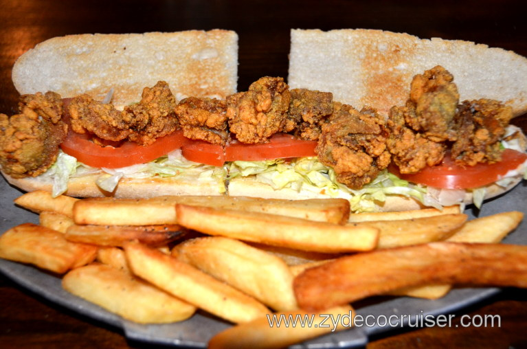 102: Baton Rouge Trip, March, 2011, Mike Anderson's Restaurant, Oyster Poboy