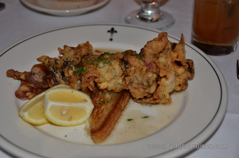 017: Baton Rouge Trip, March, 2011, Galatoire's Bistro, Oysters en Brochette,