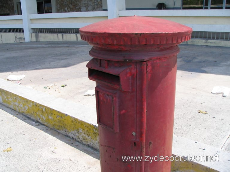 Mailbox in front of Post Office, Nassau, Bahamas