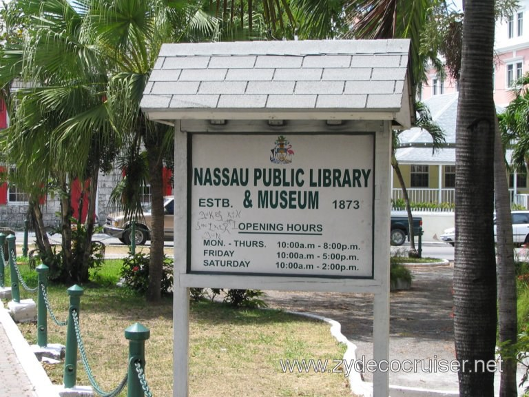 Nassau Public Library and Museum (and former jail), Nassau, Bahamas