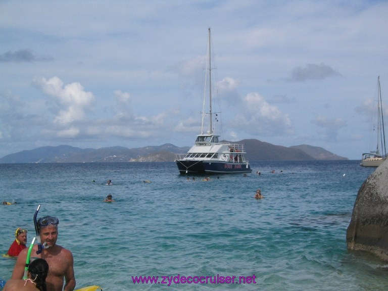 022: Carnival Liberty, Tortola, Patouche, Extreme Machine, The Baths, Virgin Gorda