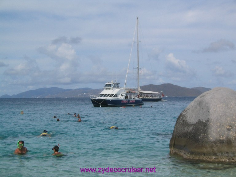 023: Carnival Liberty, Tortola, Patouche, Extreme Machine, The Baths, Virgin Gorda