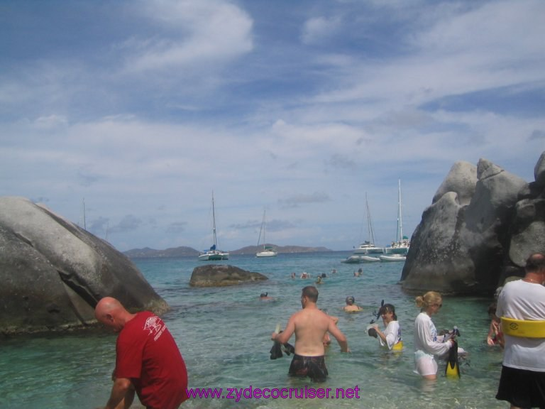 045: Carnival Liberty, Tortola, Patouche, Extreme Machine, The Baths, Virgin Gorda, I'm taking the water route back...