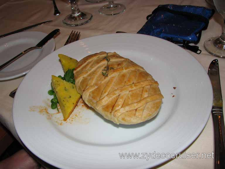 Cinnamon Pumpkin, Squash, Yam, and Cheddar Pot Pie, Carnival Splendor 8
