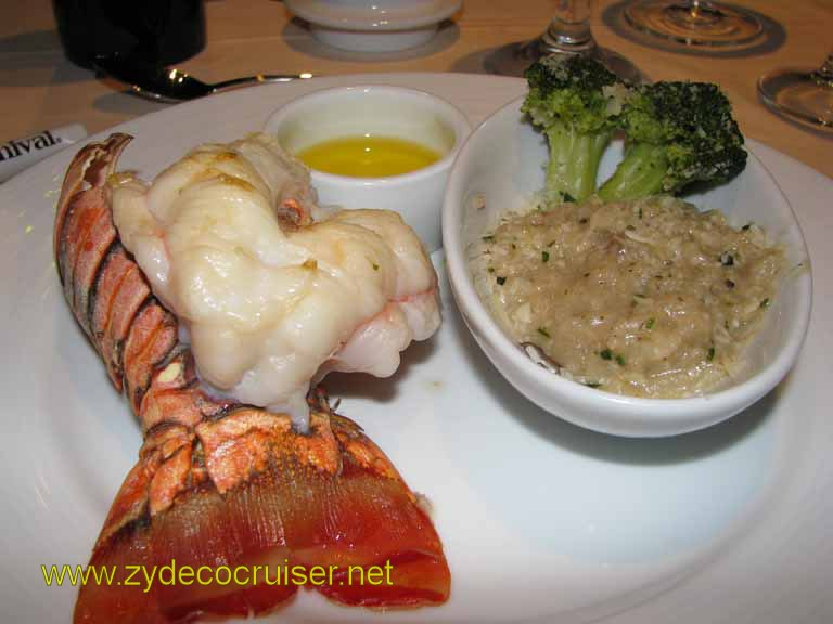 Broiled Lobster, Carnival Splendor