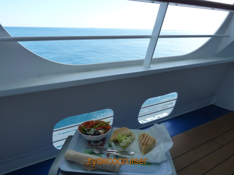 3948 Carnival Dream Mediterranean Cruise Cove Balcony